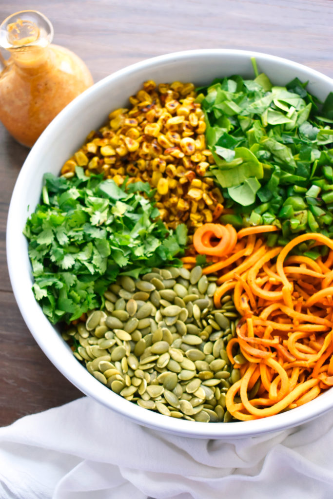 CHIPOTLE LIME SWEET POTATO NOODLE SALAD