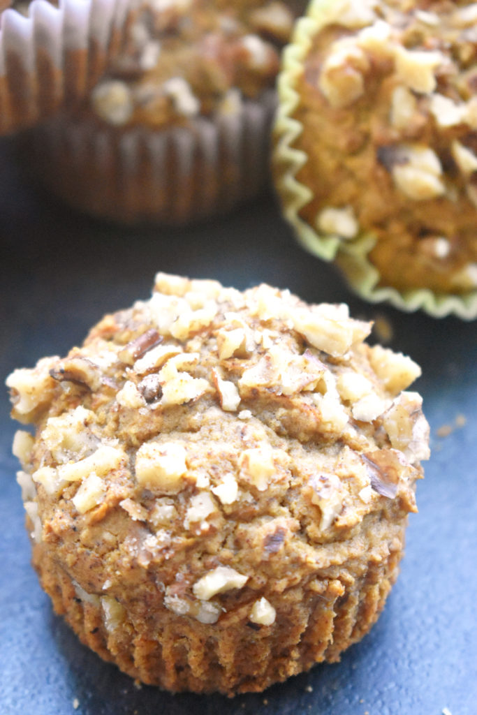 Spiced Carrot Apple Muffins