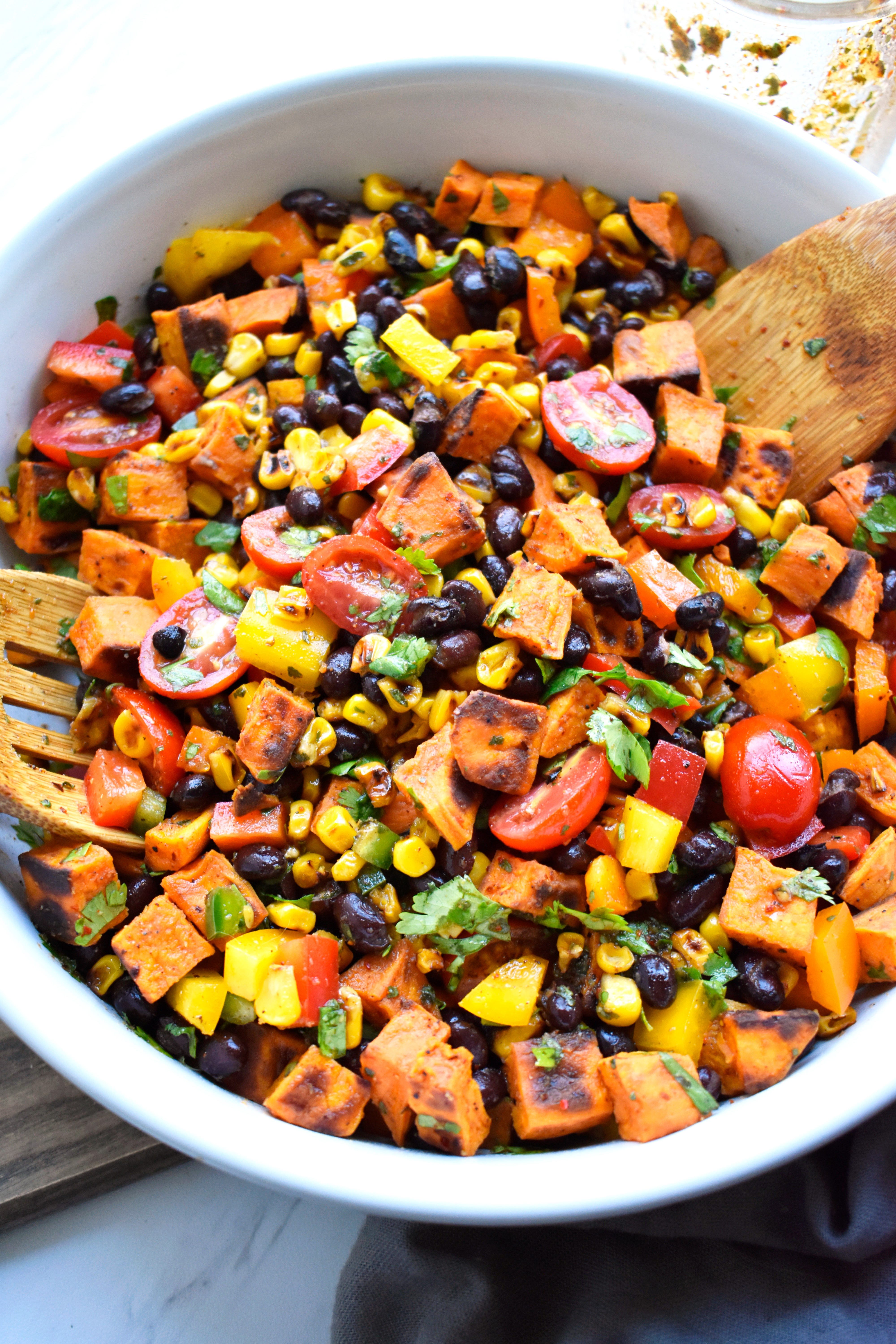 Southwestern Roasted Sweet Potato Salad Delish I Full